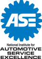 The National Institute for Automotive Service Excellence (ASE) for auto shops